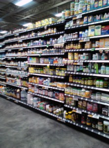 Grocery Store Shelving