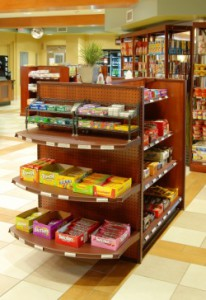 Retailing: Finding a Creative Shelving Solution