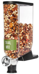bulk trail mix dispenser from Midwest Retail Services