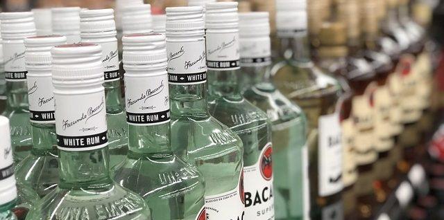 Liquor Store Shelving